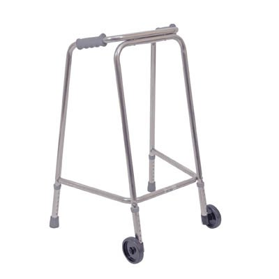 Ultra Narrow Lightweight Walking Frame with Wheels