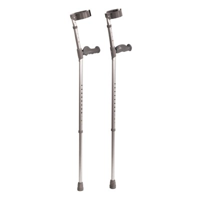 Ergonomic Handle Elbow Crutch