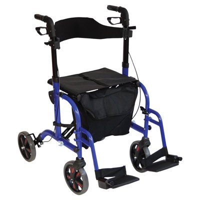 Duo Deluxe Rollator and Transit Chair