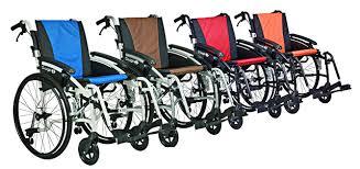 VanOs G-Logic Self Propelled Wheelchair