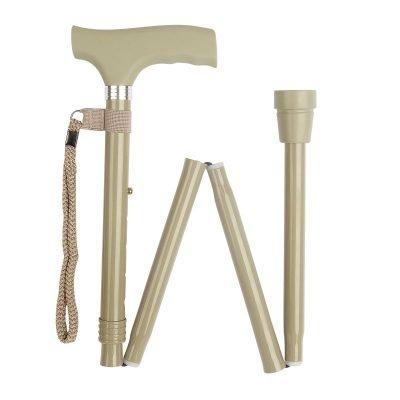 Sage Silicone Handle Folding Stick