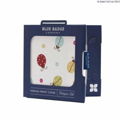 Blue Badge Permit Cover- Ladybird