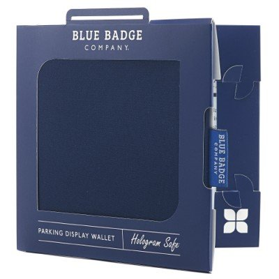 Blue Badge Permit Cover- Navy Blue