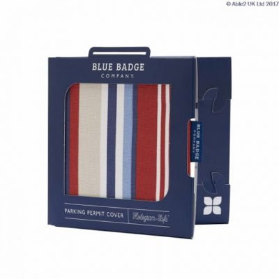 Blue Badge Permit Cover- Steller Strip